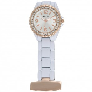 Henley Ladies Fashion Diamante Fob Watch