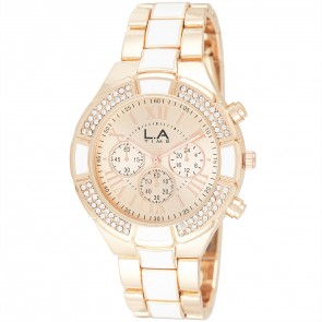 L.A Time Ladies Fashion Bracelet Watch