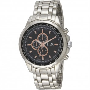 L.A Time Mens Fashion Bracelet Watch