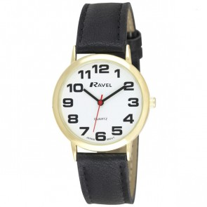 Ravel Mens Classic Strap Watch