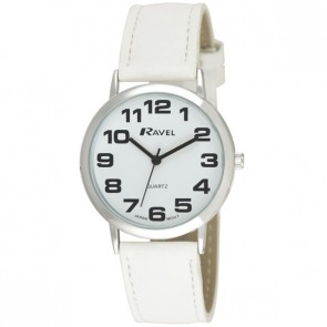 Unisex Classic Bold Easy Read Strap Watch - Large