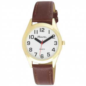 Men's Classic Super Bold Easy Read Strap Watch