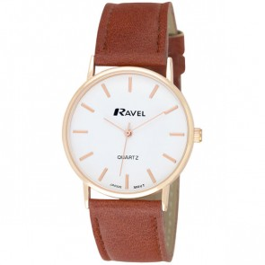 Ravel Gents Classic Strap Watch