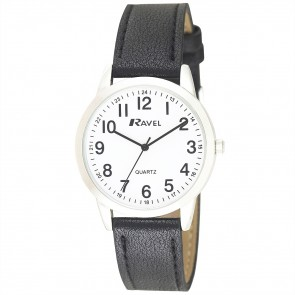 Men's Classic Arabic Strap Watch