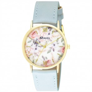 Ravel Ladies Classic Floral Watch