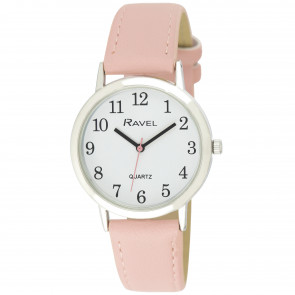 Women's Classic Easy Read Strap Watch - Pink