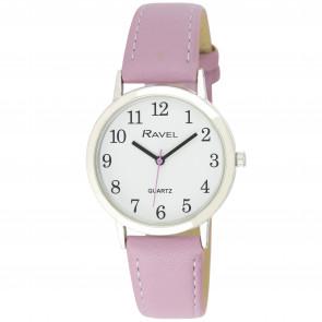 Women's Classic Easy Read Strap Watch - Purple