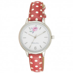Floral Polka Dot Watch
