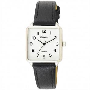 Women's Classic Rectangular Strap Watch