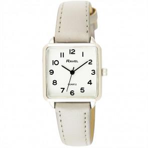 Women's Classic Rectangular Strap Watch - Grey