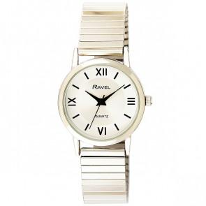 Women's Traditional Roman Numeral Bracelet Watch - Silver