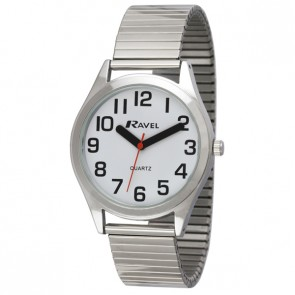 Ravel Mens Expander Bracelet Watch
