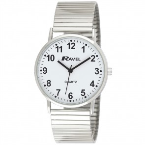 Ravel Gents Expander Bracelet Watch