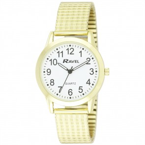 Men's Classic Expander Bracelet Watch