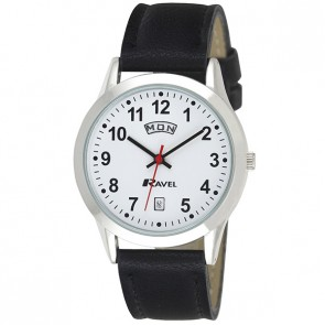 Ravel Mens Day Date Watch