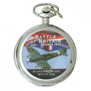 Ravel Picture Pocket Watch Spitfire