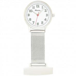 Easy Read Mesh Nurses Watch - White
