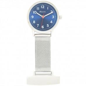 Easy Read Mesh Nurses Watch - Blue