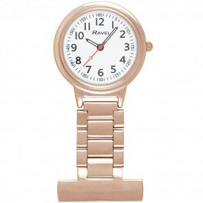 Easy-Read Nurses Watch - Rose Gold Tone