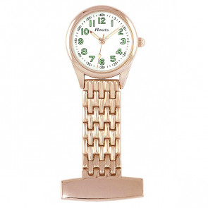 Classic Nurses Watch - Rose Gold Tone