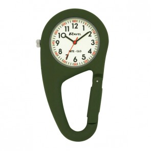 Ravel Nite-Glo Belt Clip Watch