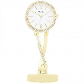 Kriss Cross Nurses Watch - Gold