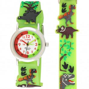 Boy's Cartoon Time Teacher Watch - Dinosaur