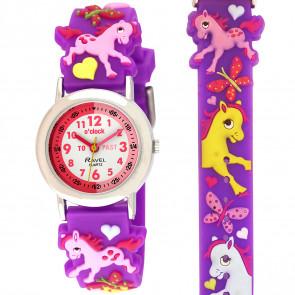 Girl's Cartoon Time Teacher Watch - Pony