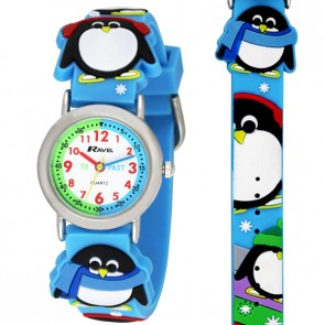 Ravel Girls 3D Penguin Time Teacher Watch