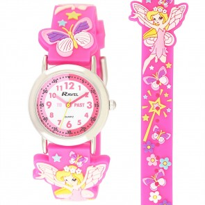 Girl's Cartoon Time Teacher Watch - Fairy