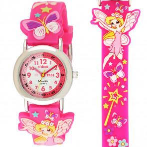 Girl's Cartoon Time Teacher Watch - Fairy