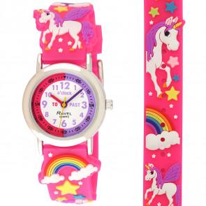 Kid's Cartoon Time Teacher Watch - Unicorn