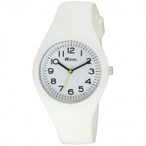Large Comfort Fit Silicone Watch