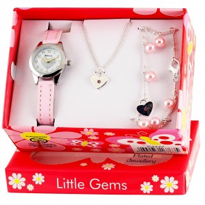 Little Gems - Heart Celebration Pink