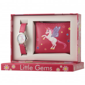 Little Gems Watch & Coin Purse Gift Set - Unicorn