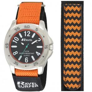 Ravel Mens Velcro Surfer 5ATM Watch