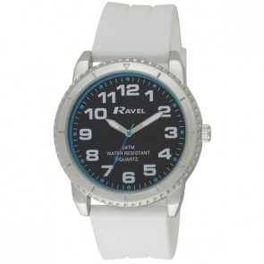 Men's 5ATM Silicon Watch