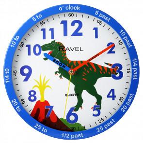 Kids 25cm Time-Teacher Wall Clock