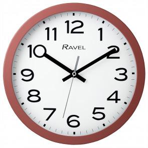 25cm Kitchen Wall Clock - Coral