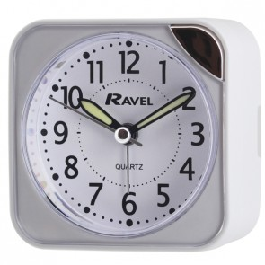 Small Square Quartz Alarm Clock