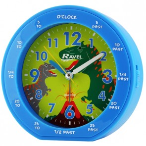 Boy's Teaching Time Clock - Dinosaur