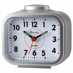 Rectangular Beep & Bell Alarm - Silver/Silver