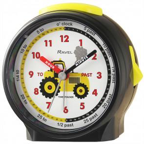 Children's Character Alarm Clock - Tractor