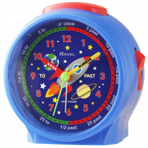 Children's Character Alarm Clock -Space Rocket