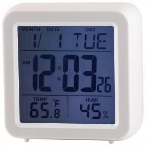 Quartz LCD Touch Alarm Clock
