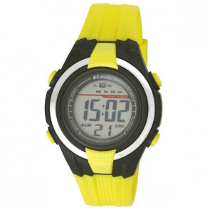 Small Digital Watch Yellow