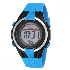 Small Digital Watch Blue