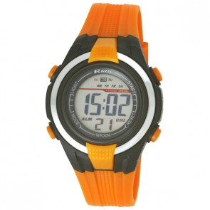 Small Digital Watch Orange