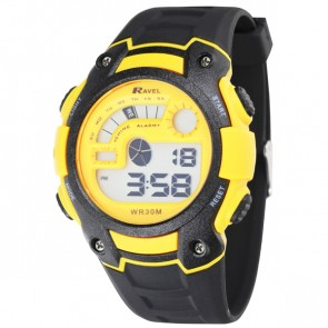 Ravel Large Digital Watch