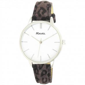 Women's Animal Print Watch - Grey Leopard